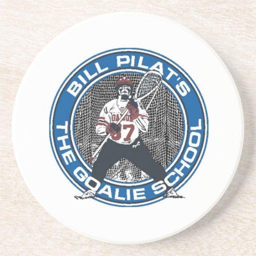 Goalie School Coaster