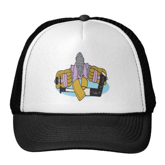 Goalie Split Trucker Hat