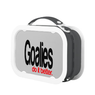 Goalies Do It Better Lunch Box
