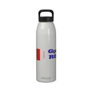 Goalie's Rock!-Canadian Maple Leaf Reusable Water Bottles