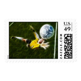 Goalkeeper in Action Postage
