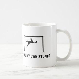 Goalkeeper Classic White Coffee Mug