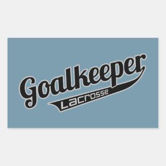 Goalkeeper Rectangular Stickers