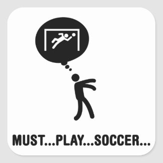 Goalkeeper Square Sticker