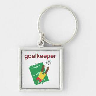 Goalkeeper T-shirts and Gifts Keychain
