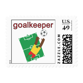 Goalkeeper T-shirts and Gifts Postage Stamp