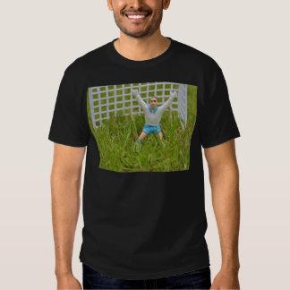 Goalkeeper Tee Shirt Black Adult