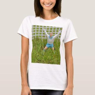 Goalkeeper Tee Shirt Fitted White