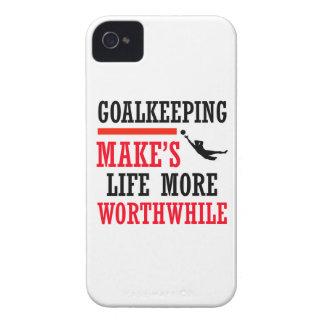 goalkeeping soccer design Case-Mate iPhone 4 cases