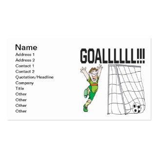 Goalllllllllllllllll Business Card