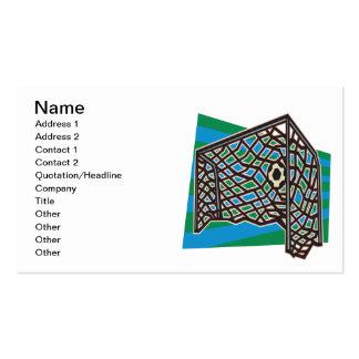 Goalllllllllllllllll Double-Sided Standard Business Cards (Pack Of 100)