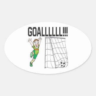 Goalllllllllllllllll Stickers