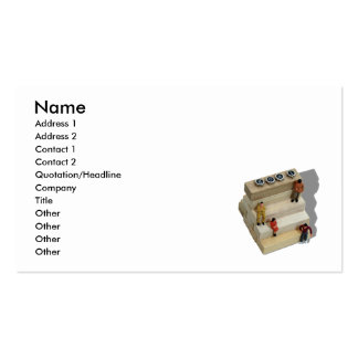Goals041209Shadow, Name, Address 1, Address 2, ... Business Card Template