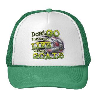 Goals Cap Trucker Hat