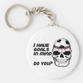 Goals in Mind Keychain