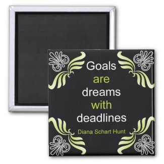 Goals Quotation Magnet