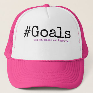 #Goals Trucker Hat