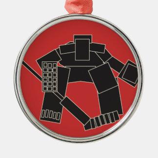 Goaltender Metal Ornament