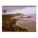Goan beach post card