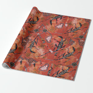Goanna Territory 2 Wrapping Paper