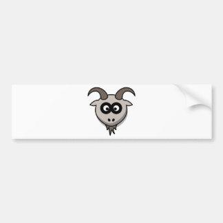 goat-3087 car bumper sticker