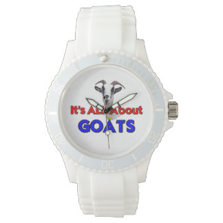 Goat All ABout the Goats Wrist Watch