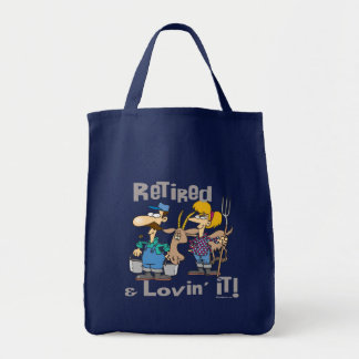 Goat and Retired Family Tote Bag