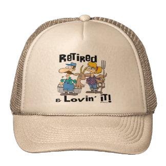 Goat and Retired Family Trucker Hat
