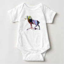 Goat Art Baby Bodysuit
