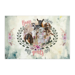 GOAT ART | Home is Where My Goats Are GetYerGoat Goat Breeds Painted Portraits