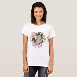 GOAT ART | Home is Where My Goats Are GetYerGoat T-Shirt Goat Breeds Painted Portraits
