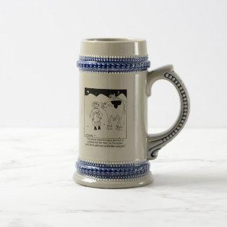 Goat Astronauts 18 Oz Beer Stein