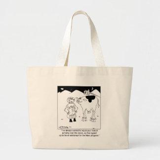 Goat Astronauts Jumbo Tote Bag