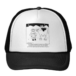 Goat Astronauts Trucker Hat