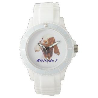 Goat Attitude Wristwatch