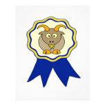 GOAT Award Custom Letterhead