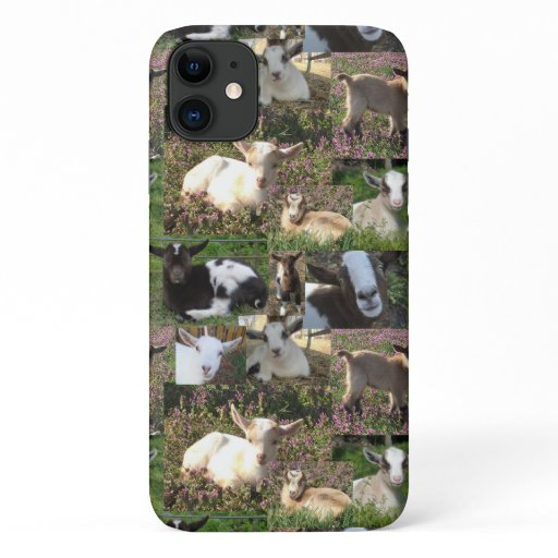 Goat Baby Kid Farm Barnyard Animals iPhone 11 Case