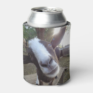 Goat Barnyard Farm Animal Can Cooler