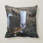 Goat Barnyard Farm Animal Pillow