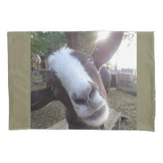 Goat Barnyard Farm Animal Pillowcase