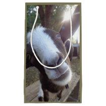 Goat Barnyard Farm Animal Small Gift Bag