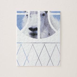 goat basketball jigsaw puzzle