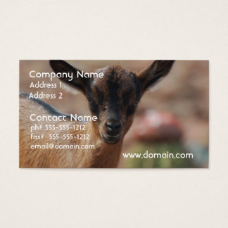 Goat Business Card