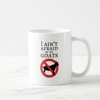 Goat Busters Classic White Coffee Mug