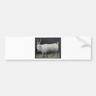 Goat by Niko Pirosmani Bumper Sticker