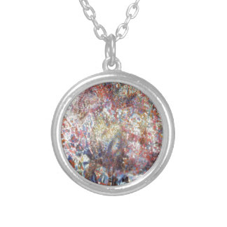 Goat by Pavel Filonov Round Pendant Necklace