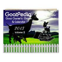 Goat Calendar GoatPedia Goat Owner's Guide