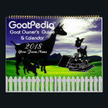 """Goat Calendar GoatPedia™ Goat Owner&#39;s Guide<br><div class=""""desc"""">This is a GetYerGoat™ - Goat-Link.com - goatlady - Original Exclusive - since 1996 Goat Calendar GoatPedia™ Goat Owner&#39;s Guide and Calendar Without a Doubt – The Ultimate Goat Lovers Gift! Not just a cute animal calendar or beloved pet calendar- This Calendar has the goat information you need at your...</div>"""