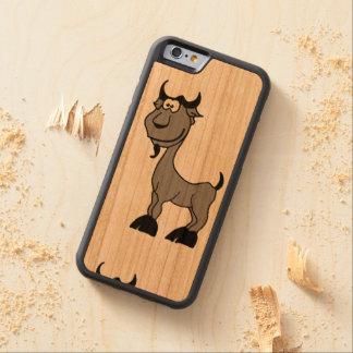 Goat Capricorn zodiac animal comic Carved® Cherry iPhone 6 Bumper Case