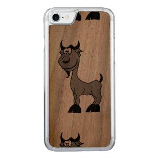 Goat Capricorn zodiac animal comic Carved iPhone 7 Case